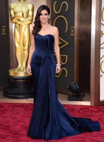Sandra Bullock -Alexander McQueen