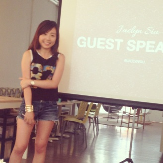Guest Speaker: Jaclyn Siu - Freelance Social Media Strategist